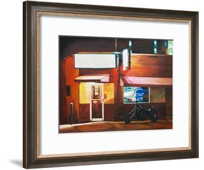 Biker Bar-Katrina Swanson-Framed Art Print