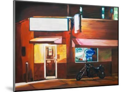 Biker Bar-Katrina Swanson-Mounted Art Print