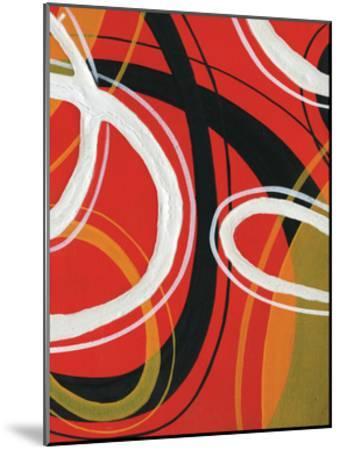 Red Circles-Lucas Hunter-Mounted Art Print