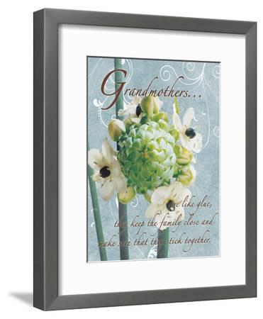 Grandmothers Glue 2-Sheldon Lewis-Framed Art Print
