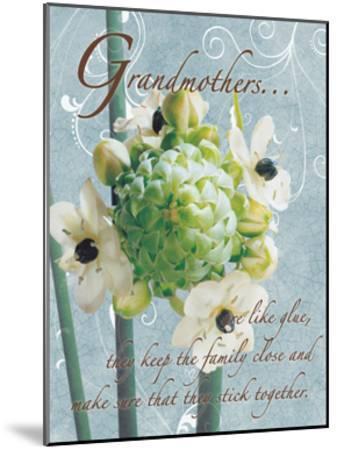 Grandmothers Glue 2-Sheldon Lewis-Mounted Art Print