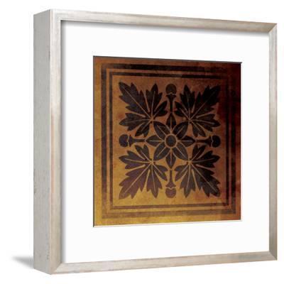 Pattern Patch 2-Jace Grey-Framed Art Print