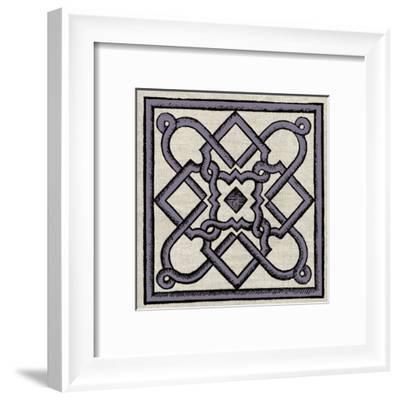 Wood Cut C1-Tina Carlson-Framed Art Print