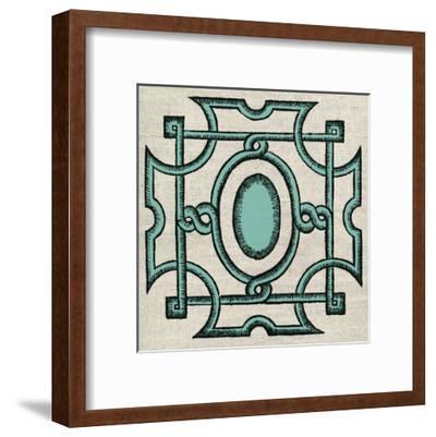 Wood Cut D2-Tina Carlson-Framed Art Print