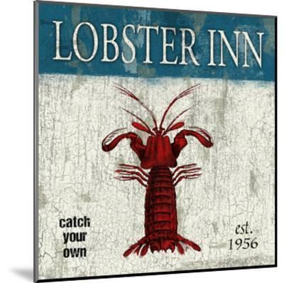 Lobster-Jace Grey-Mounted Art Print