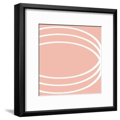 Spa Pattern II-OnRei-Framed Art Print