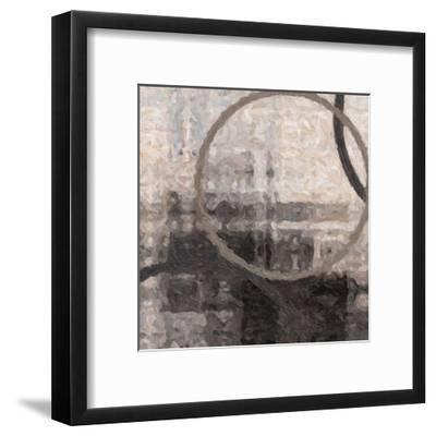 Compression II-Taylor Greene-Framed Art Print