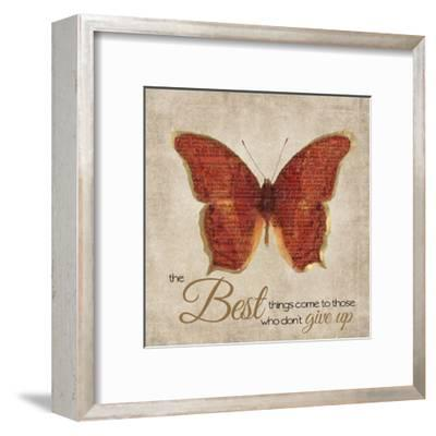 The Best Things-Taylor Greene-Framed Art Print
