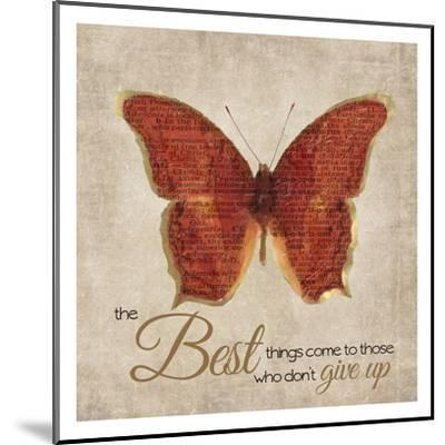 The Best Things-Taylor Greene-Mounted Art Print