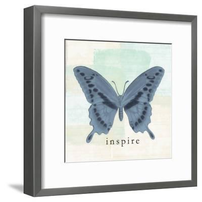 Butterfly Inspire-Taylor Greene-Framed Art Print
