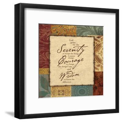 Serenity-Jace Grey-Framed Art Print