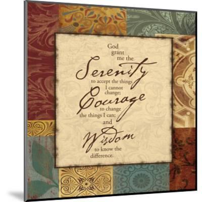 Serenity-Jace Grey-Mounted Art Print