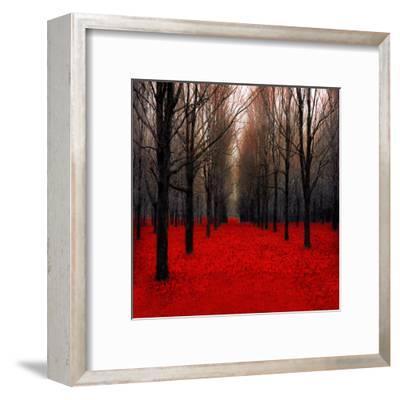 Fiery Autumn-Tracey Telik-Framed Art Print