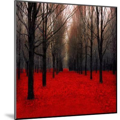 Fiery Autumn-Tracey Telik-Mounted Art Print
