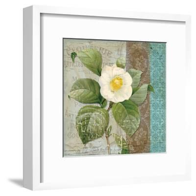 Vintage Floral 2-Ophelia & Co^-Framed Art Print