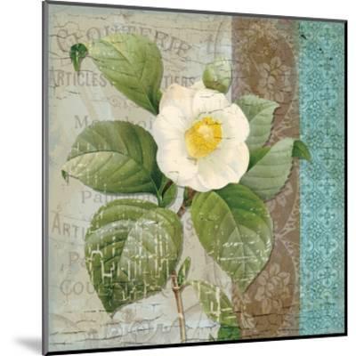Vintage Floral 2-Ophelia & Co^-Mounted Art Print