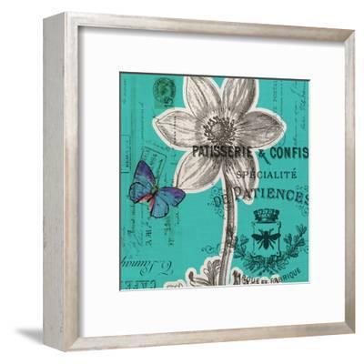 Flower 5A-Elizabeth Jordan-Framed Art Print