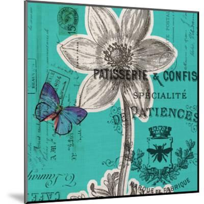 Flower 5A-Elizabeth Jordan-Mounted Art Print