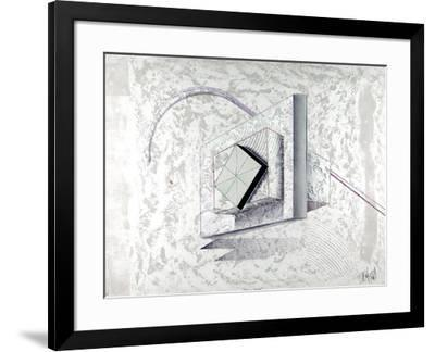Yellow Stone-Luis Mazorra-Framed Limited Edition