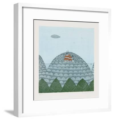 Castle-Keiko Minami-Framed Limited Edition