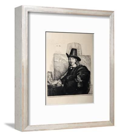 Portrait de Jean Asselyn (B277)-Amand Durand-Framed Collectable Print
