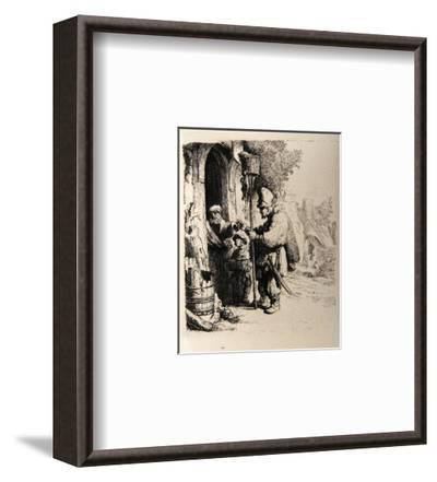Le Marchand de Mort aux Rats (B121)-Amand Durand-Framed Collectable Print