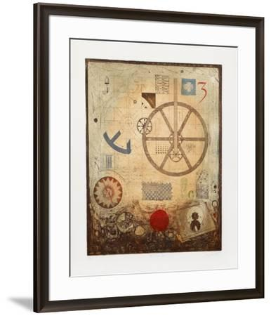 Divisions II-M. J. Wells-Framed Limited Edition