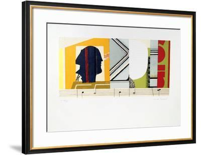 Melodie-Max Papart-Framed Collectable Print