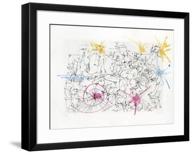 Untitled - Nudes and Men in Suits-Dimitri Petrov-Framed Limited Edition