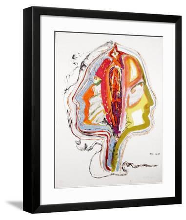 Untitled - The Mind-Vick Vibha-Framed Limited Edition
