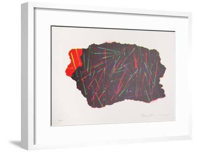 Autobiographical Sketches Portfolio 10-Emmett Williams-Framed Limited Edition