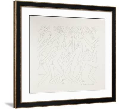 Dancing Nudes - I-Knox Martin-Framed Limited Edition