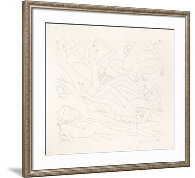 Dancing Nudes - V-Knox Martin-Framed Limited Edition