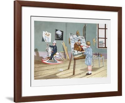 Long Prophecy-Tito Salomoni-Framed Collectable Print