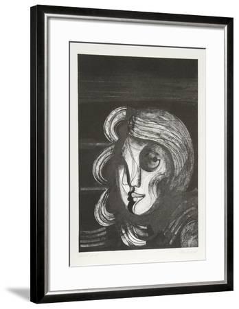 Visages 1-Georgi Daskaloff-Framed Limited Edition