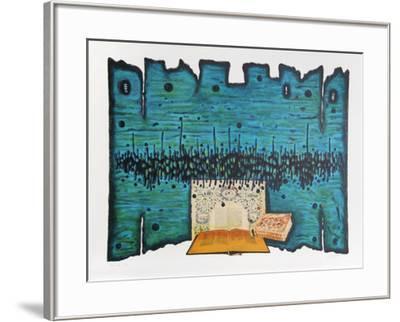 Prayer-Moshe Elazar Castel-Framed Limited Edition