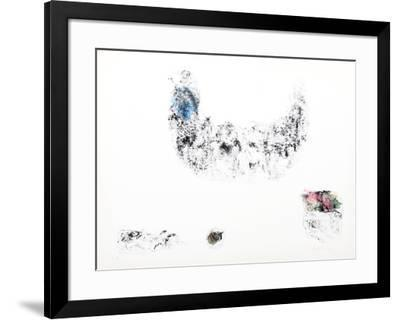 Horses - Variation 12 (Blue, Pink and Green)-Lebadang-Framed Collectable Print