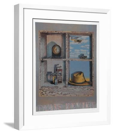 Paris Review-Howard Kanovitz-Framed Limited Edition