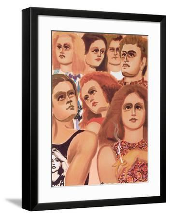 New York Street Scene 6-Lester Johnson-Framed Limited Edition
