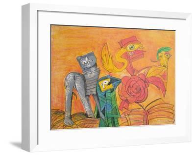 A La Boutonniere-Julio Silva-Framed Collectable Print