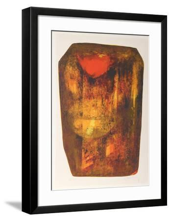 Nature Prays Without Words 1-Lebadang-Framed Collectable Print