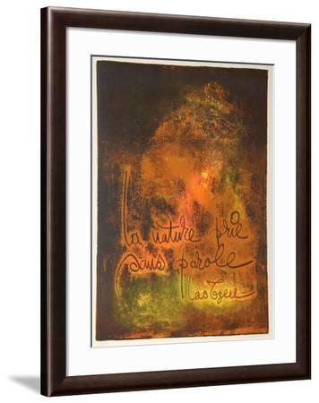 Nature Prays Without Words 3-Lebadang-Framed Collectable Print