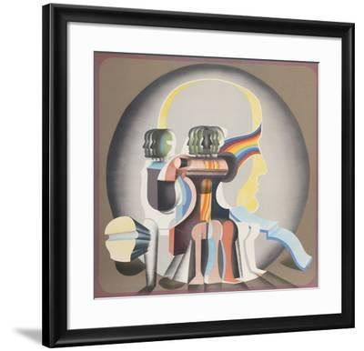 Sin Titulo (Cabeza)-Arnold Belkin-Framed Limited Edition