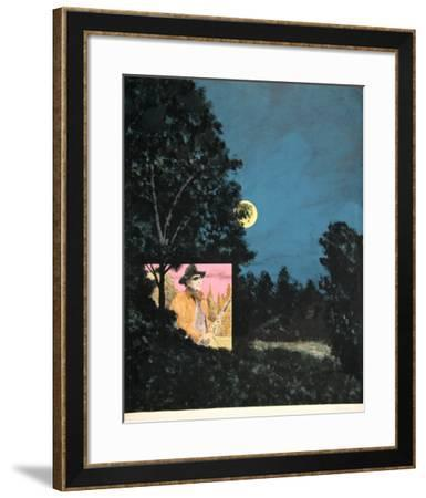 John Wayne at the Drive-In-Seymour Leichman-Framed Limited Edition