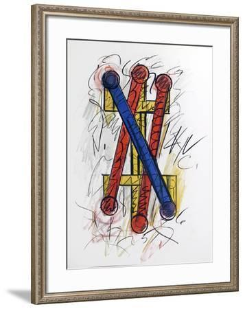 untitled-Keith Sonnier-Framed Limited Edition