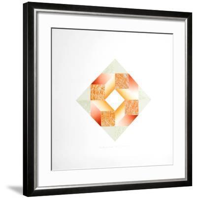 Four Hands Round-Kathy Caraccio-Framed Limited Edition