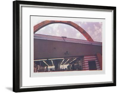 III - Arch from One Culture Under God-Larry Stark-Framed Serigraph