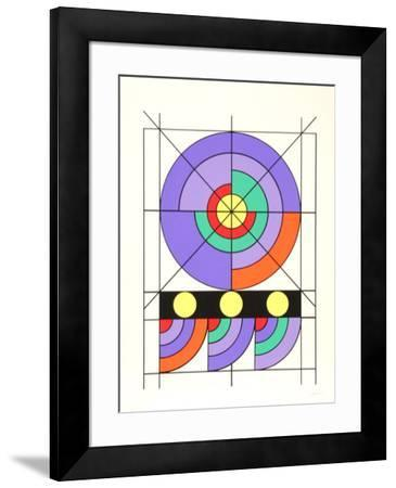 Sin Titulo-Edival Ramosa-Framed Limited Edition
