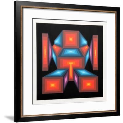 Ikon-Roy Ahlgren-Framed Serigraph