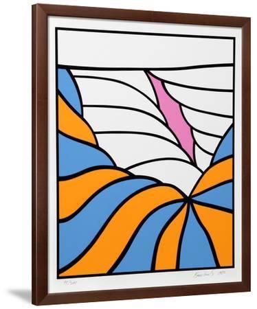 Big Sky-Nicholas Krushenick-Framed Limited Edition